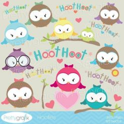 Owl hooters clipart