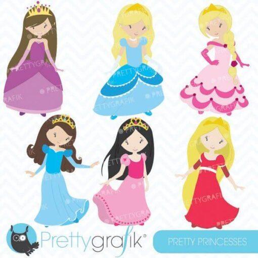 Pretty princess clipart