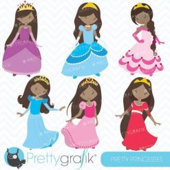 Pretty princess clipart