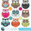Owl hoots clipart