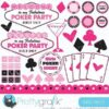Poker party clipart