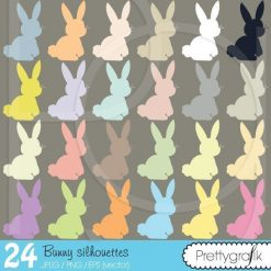 Bunny rabbit clipart