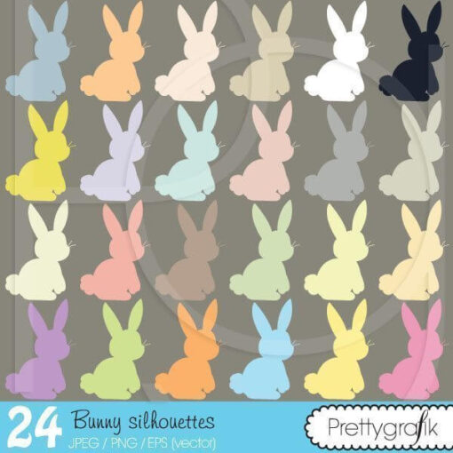 Bunny rabbit clipart