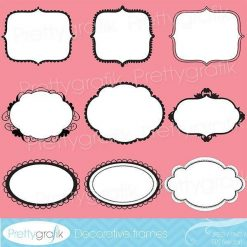 Decorative frame clipart