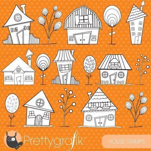 House neighbourhood stamps