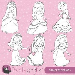 Princess stamps
