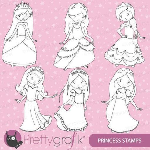 Princess stamps