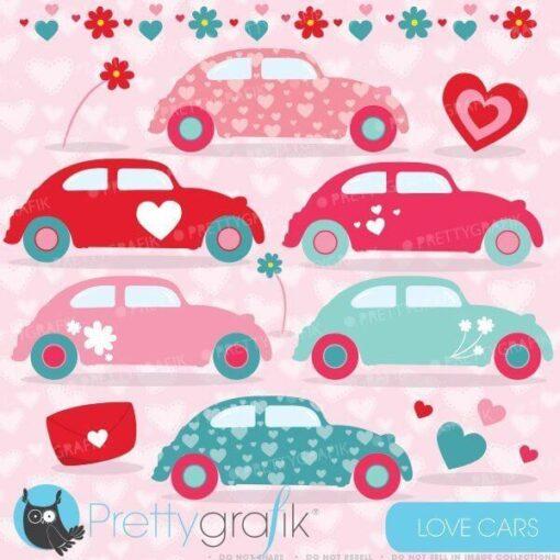 Love bug car clipart