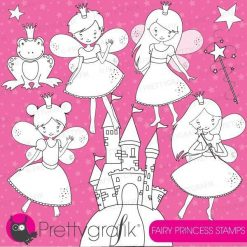 Fairy princess stamps