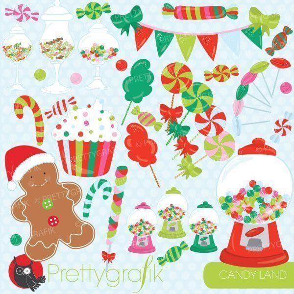 Christmas Candy Clipart.Christmas Candy Clipart