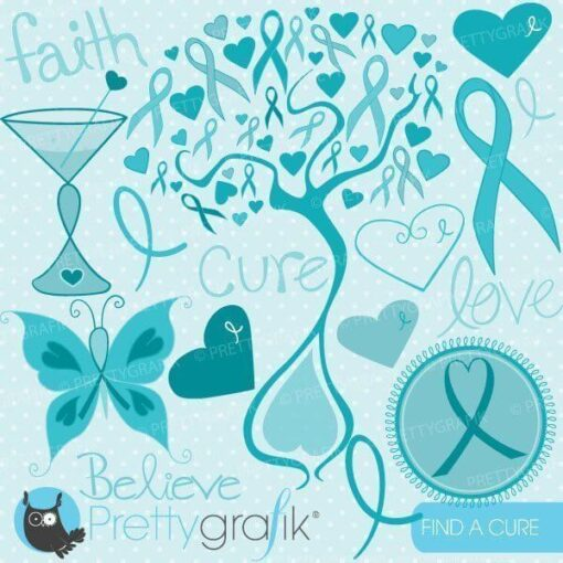Cancer cure clipart
