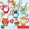 Cocoa & cookies clipart