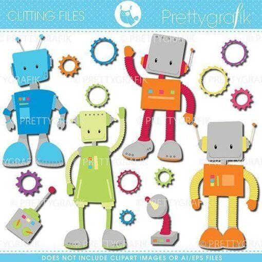 Robot cutting files