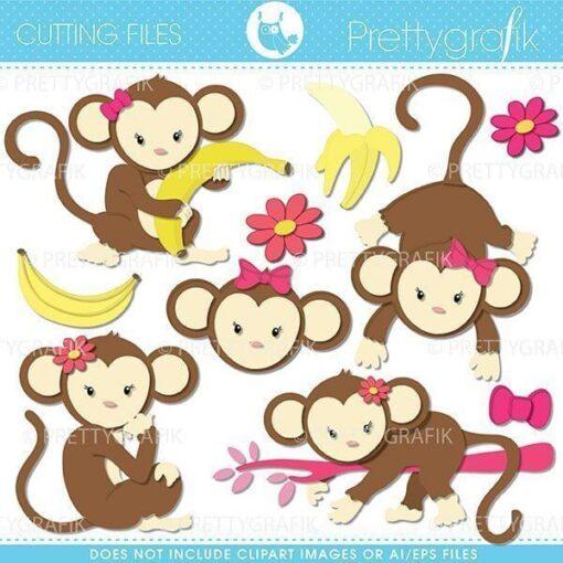 monkey girl cutting files