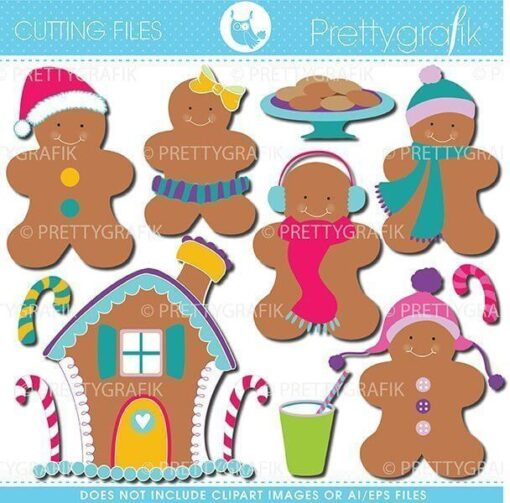 Gingerbread cutting files