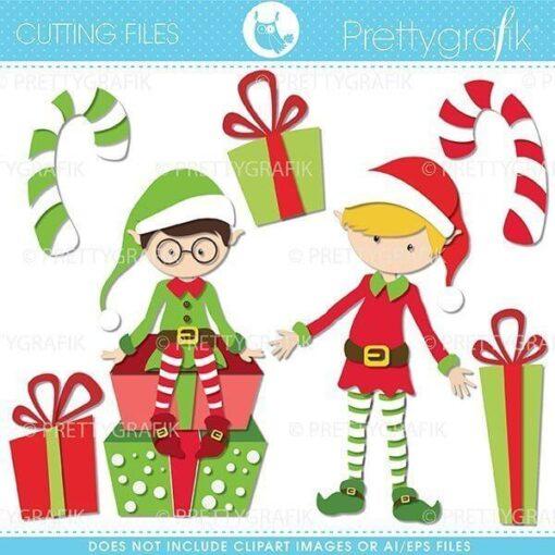 Christmas elves cutting files