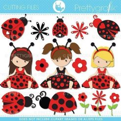 Ladybug cutting files