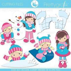 Snow fun cutting files