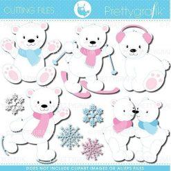 Polar bear cutting files