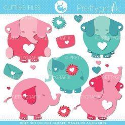 Valentine elephant cutting files