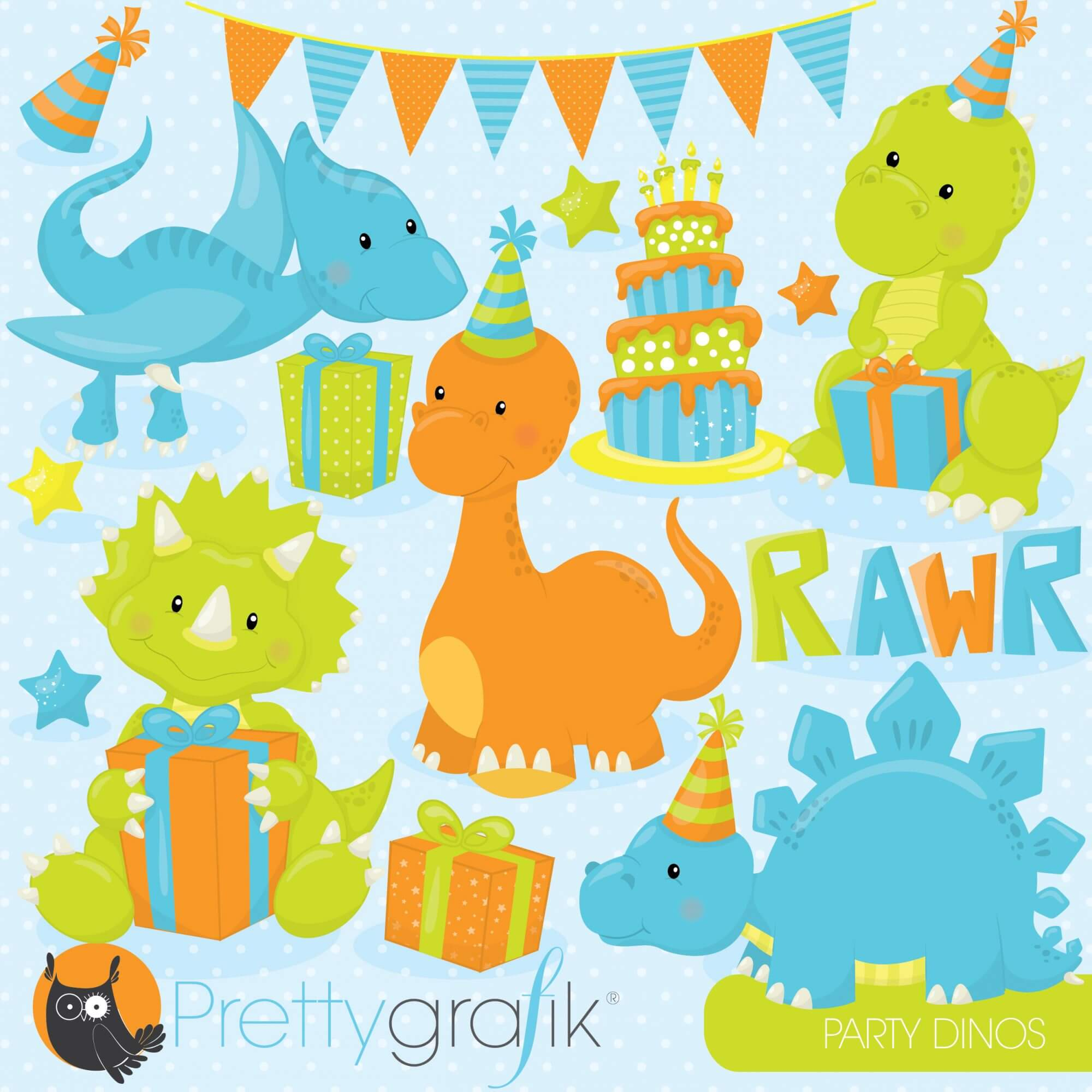 Красивые надписями, открытка с динозаврами на день рождения