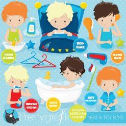 Hygiene chart clipart