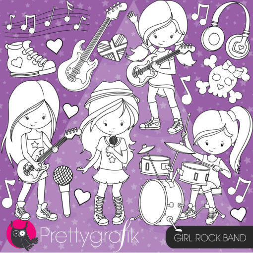 Rock band stamps