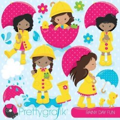 April showers clipart