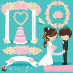 wedding ornaments clipart