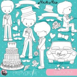 Wedding groom stamps