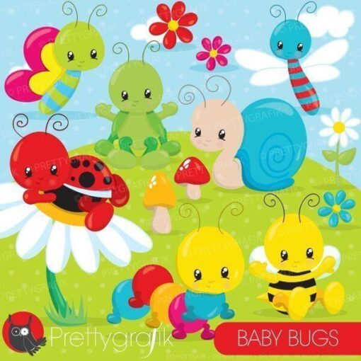 Baby bug clipart