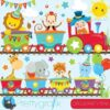 Circus train clipart