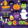 Halloween props 2 clipart
