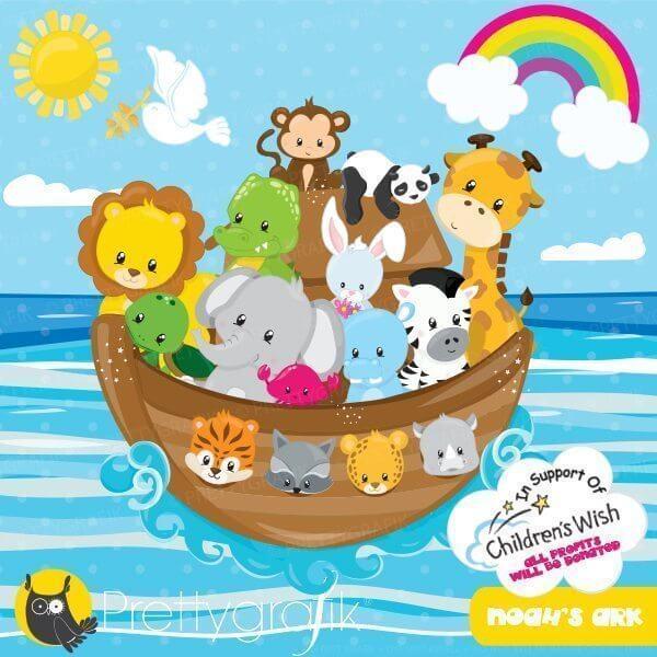 noah s ark clipart prettygrafik store rh prettygrafik com noah's ark baby shower clipart Real Pictures Noah Ark