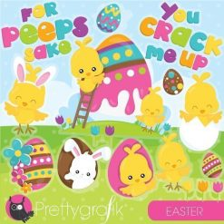 Easter chick clipart