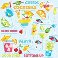Cocktails clipart