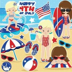 Independence day clipart