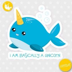 Sea unicorn Freebie