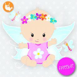 Baby fairy Freebie