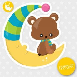 Moon bear Freebie
