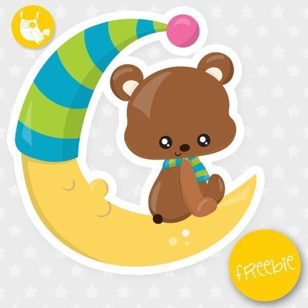 Moon bear Freebie