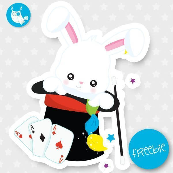 Magic bunny Freebie