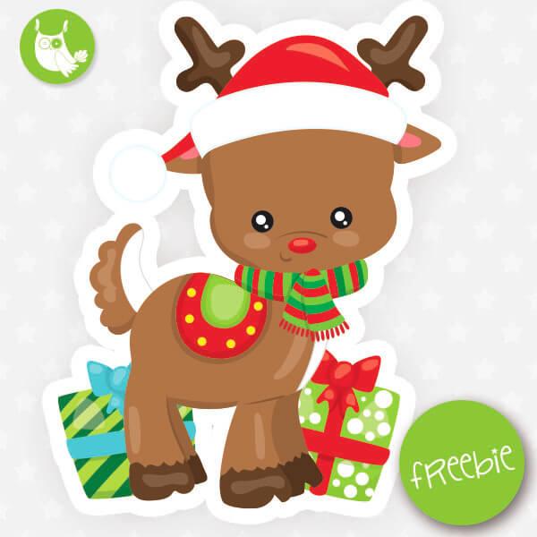 Reindeer Freebie