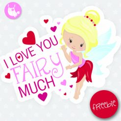 Valentine fairy Freebie