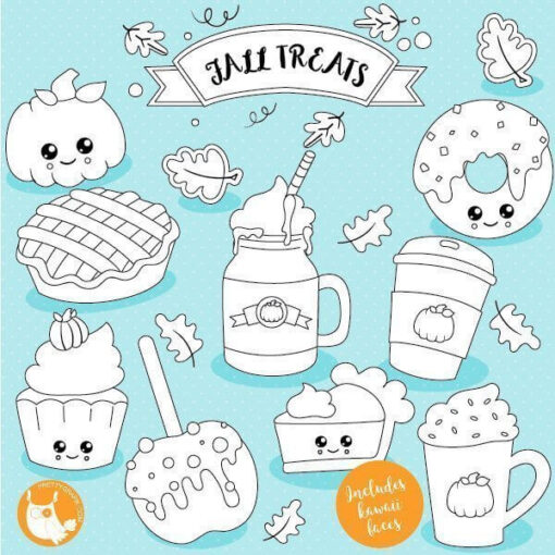 Fall treats stamps