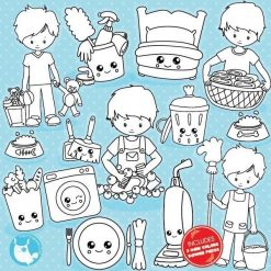 Chore boys stamps