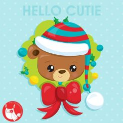 Christmas Bear Freebie