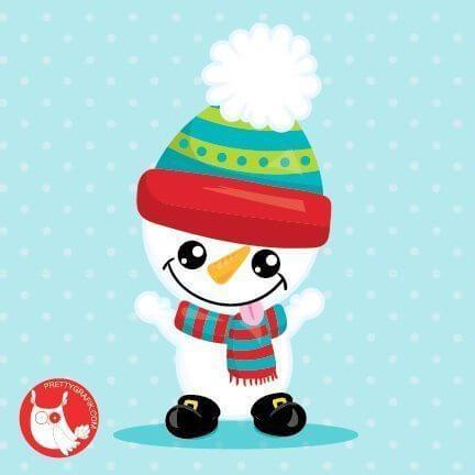 Baby Snowman Freebie