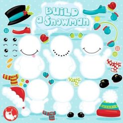 Make a snowman clipart