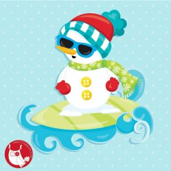 Summer Snowman Freebie